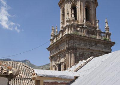 Restauración cubiertas Catedral de Jaén