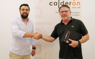Construcciones Calderón se convierte en patrocinador del Jaén Rugby, uno de los principales clubes de rugby de Andalucía