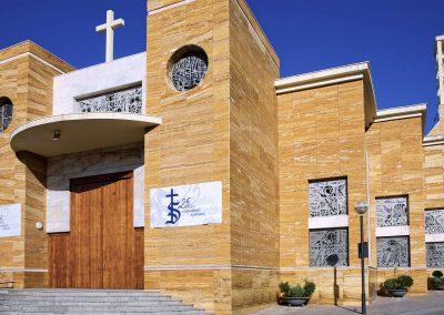 Construcción Iglesia El Salvador (Jaén 2004)