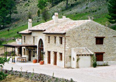 Restauración Hotel Herrerías de Río Madera (Segura de la Sierra 2008)