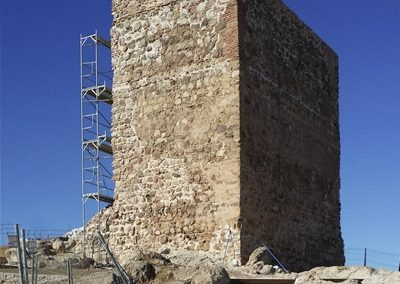 Restauración Castillo de Almogía. Siglo XV (Málaga 2014)