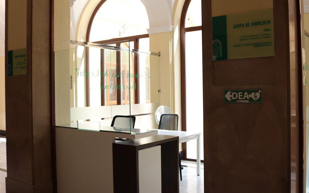 Instalación del Punto de Información para la Promoción de la Mediación en la Audiencia Provincial de Jaén