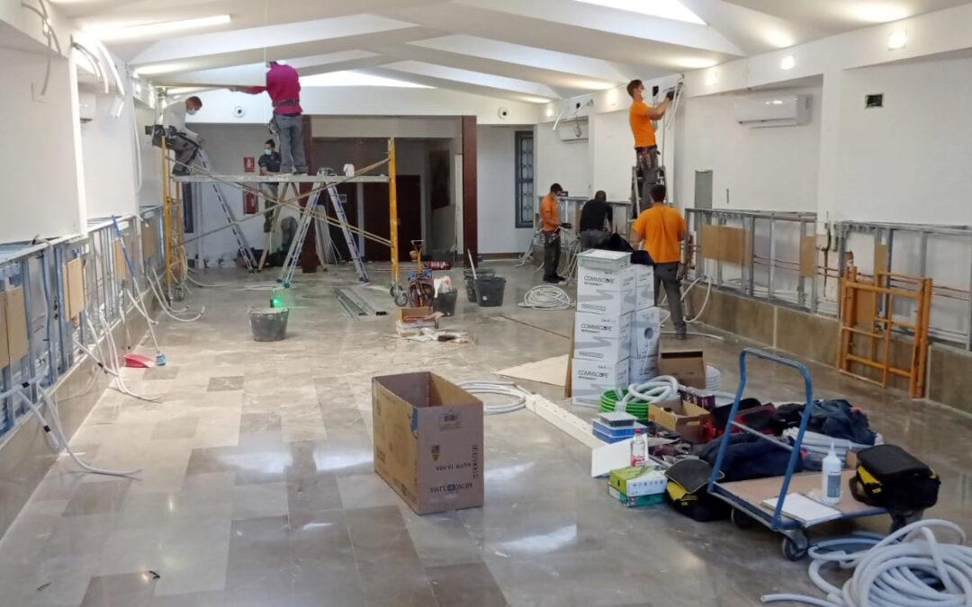Adecuación de la capilla del Hospital Virgen de la Nieves de Granada para acoger una sala con 14 camas de UCI