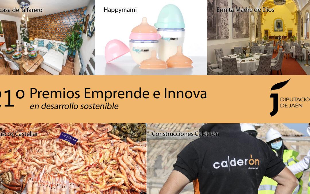 Construcciones Calderón gana el Premio Emprende e Innova de la Diputación de Jaén