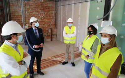 Construcciones Calderón acomete las obras de ampliación de la UCI del Hospital Neurotraumatológico de Jaén