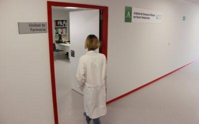 Construcciones Calderón ejecuta una unidad de ensayos clínicos en fases tempranas en el Hospital Virgen de las Nieves, que será de referencia para Granada, Jaén y Almería
