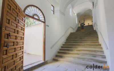 Trabajos de rehabilitación en la Abadía del Sacromonte de Granada