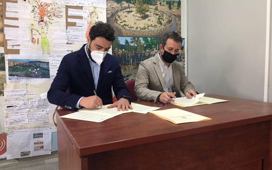 Apoyo de Construcciones Calderón para la celebración del II Campo Arqueológico de Voluntariado en Marroquíes Bajos