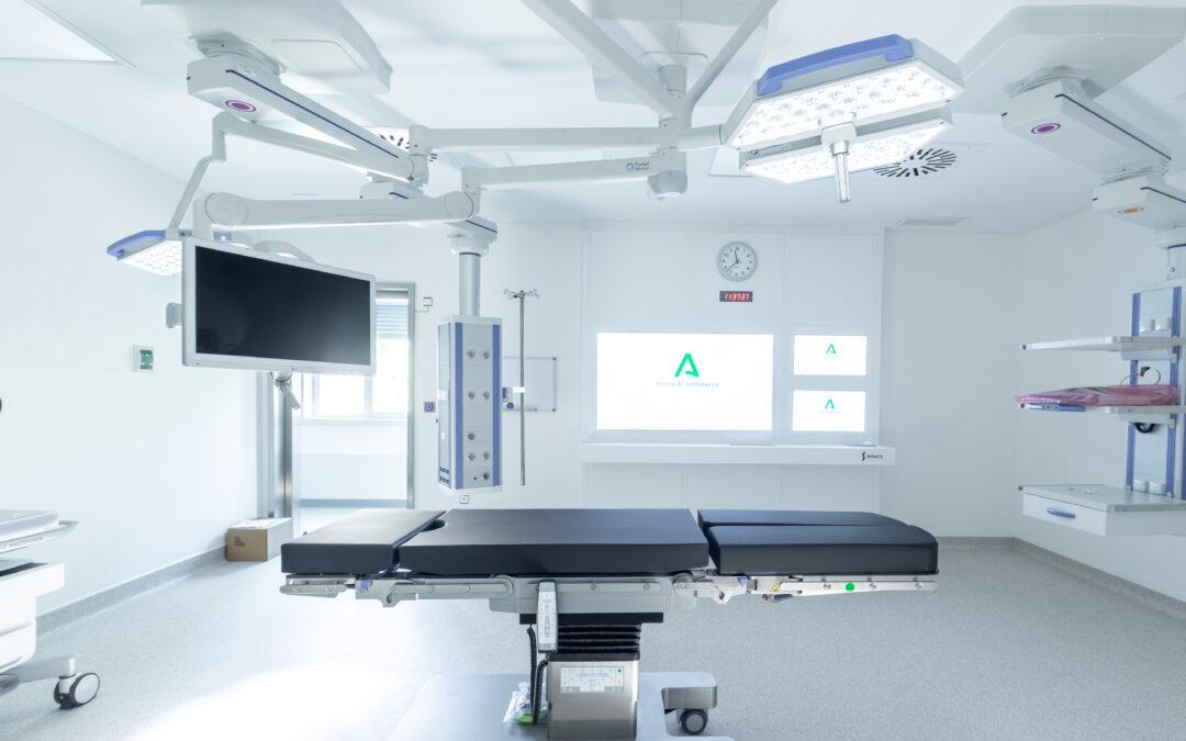 Construcciones Calderón construye quirófanos, la nueva Unidad de Neumología y el área de paritorios  en el Hospital Virgen de las Nieves de Granada