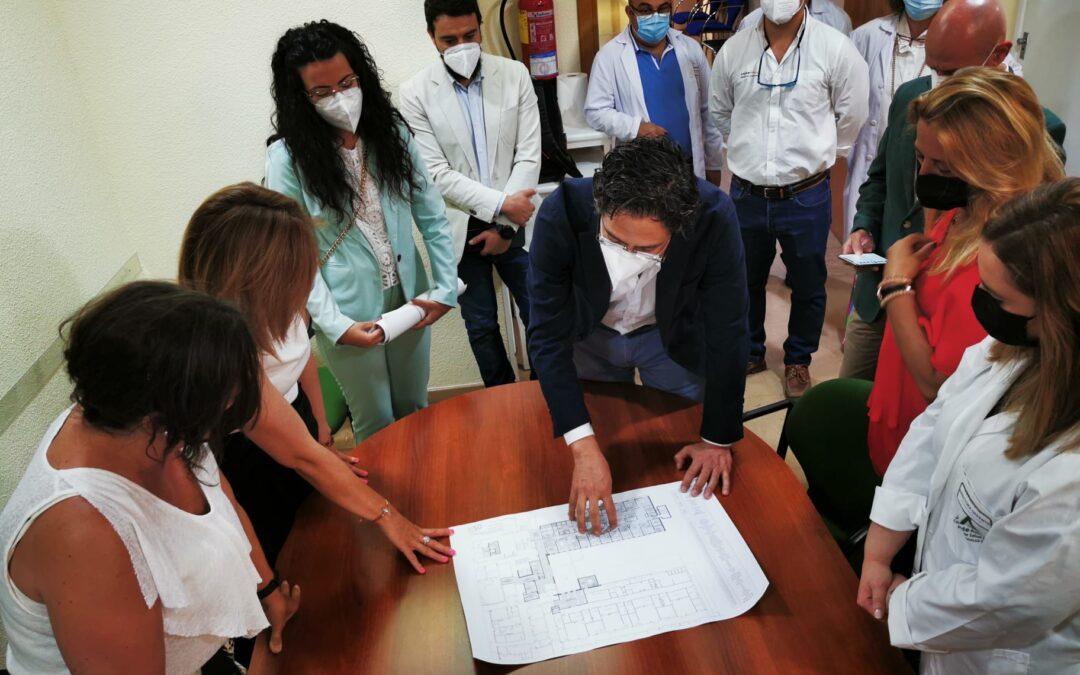 Construcciones Calderón ejecutará el proyecto de reforma y ampliación de la UCI del Hospital de Linares