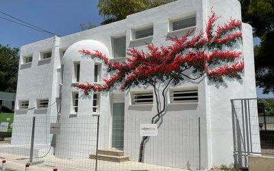 Murales de José Ríos para hacer más humano el Centro de Transfusión Sanguinea de Jaén