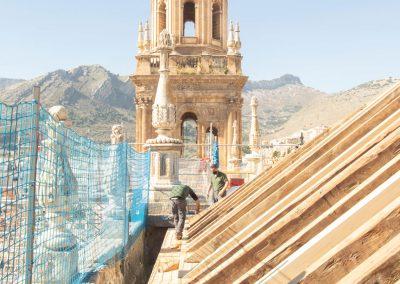 Rehabilitación integral de las cubiertas de la Catedral de Jaén