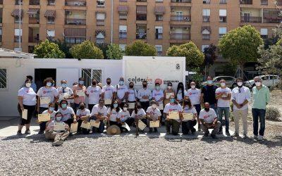 Clausurado el II Campo de Voluntariado Arqueológico de Marroquíes Bajos, patrocinado por Construcciones Calderón